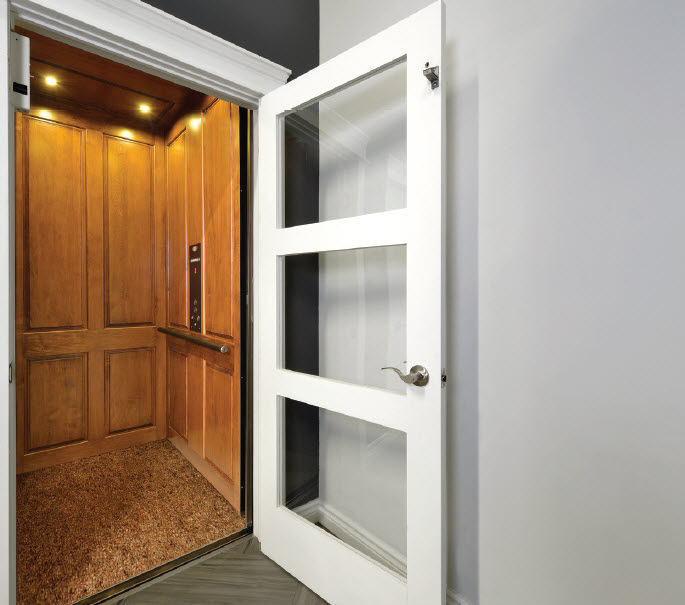 Electric elevator / home