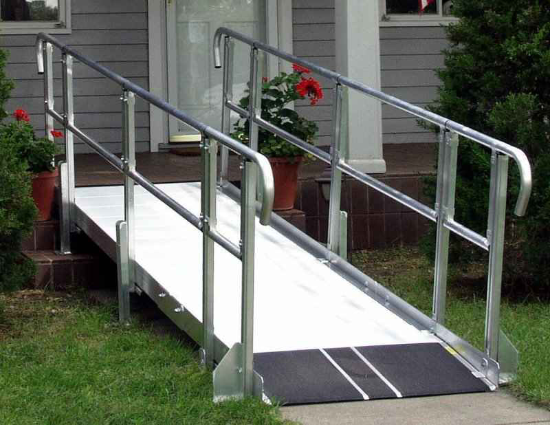 All about mobility great falls mt ramps all about for Prefab wheelchair ramp