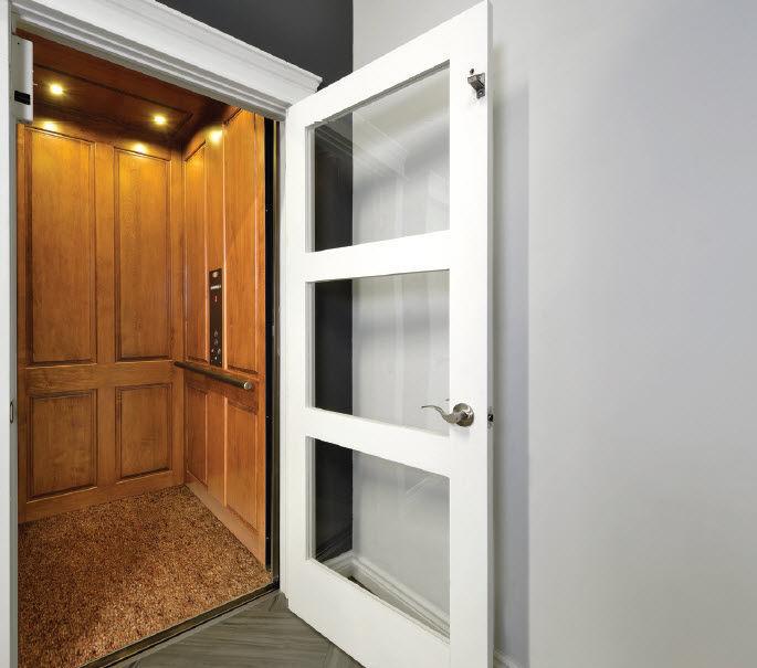 Electric elevator / home
